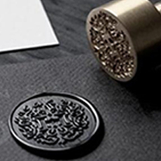 Your custom design or logo wax seal stamp