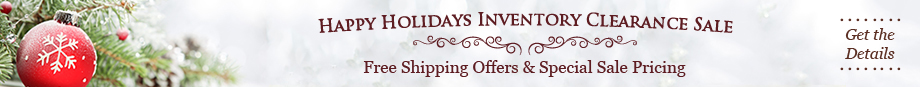 Last 3 Days for Free Holiday Shipping !