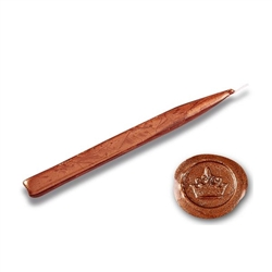 King's Jumbo Traditional Sealing Wax with wick - Copper