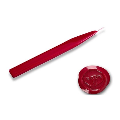 King's Jumbo Traditional Sealing Wax with wick - Red