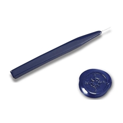 King's Jumbo Traditional Sealing Wax with wick - Navy