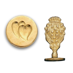 Twin Hearts Wax Seal