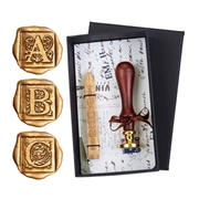 Initial Wax Seal Kit with Italian Cappolletterra font