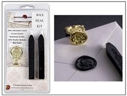 Envelope Wax Seal Kit -your choice of symbol