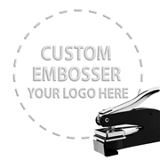 Custom Paper Embosser with your artwork or logo