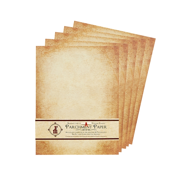 aged parchment stationery  u0026 scroll paper