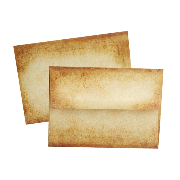 Aged Parchment  Envelopes-A6 size-Pack of 10