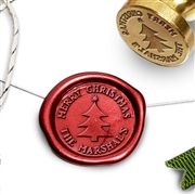 Customizable Christmas Holiday Wax Seal Stamps