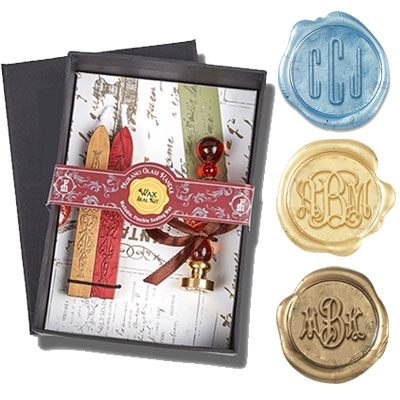 Customize your wax seal stamp with your choice of popular font styles , die shapes and handle ...