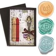 Decorative  Monogram Wax Seal Kit
