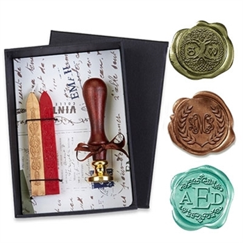 Intertwined Monogram Wax Seal Kit