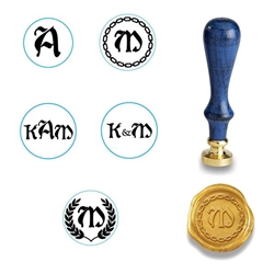 Wax Seal Stamp-Boister Black Font