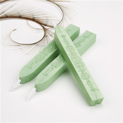 Apple Green Flexible Sealing Wax-Pack of 2 stick