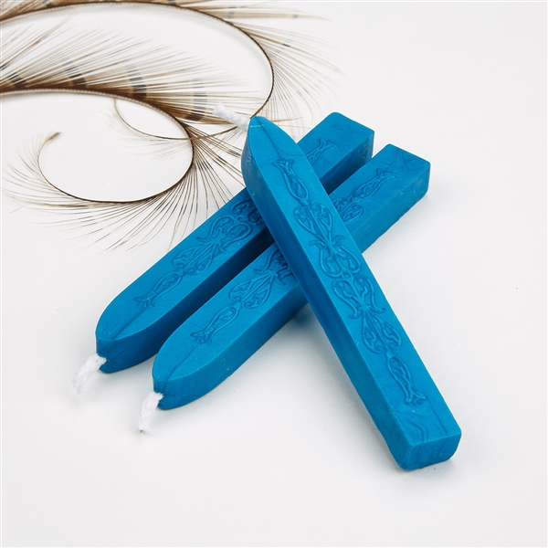 Cobalt Blue  Flexible Sealing Wax-Pack of 2 stick