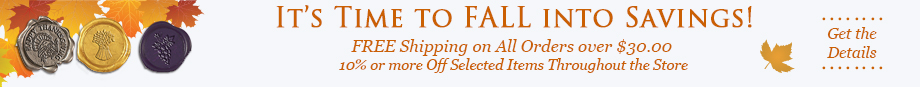 Fal Into Savings Sale- Free Shipping on Orders over $30 !