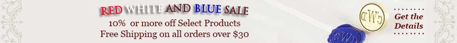 Red White And Blue Sale- Free Shipping on all Orders over $30 !
