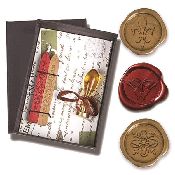 wax seal kit murano glass handle with popular symbol die