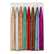 Kings Jumbo Sealing Wax-Variety Saver Pack of 8-Metallics