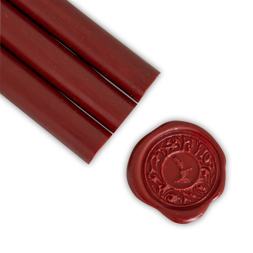 Bordeaux Glue Gun Sealing Wax
