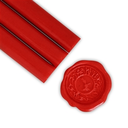 Fire Engine Red Glue Gun Sealing Wax