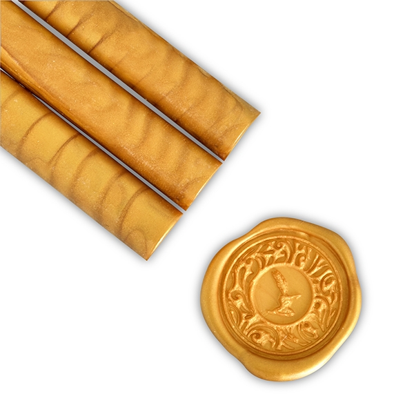 Goldenrod Glue Gun Sealing Wax