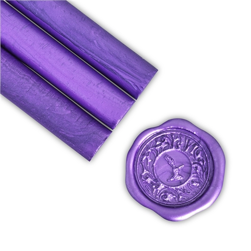 Metallic Purple Glue Gun Sealing Wax