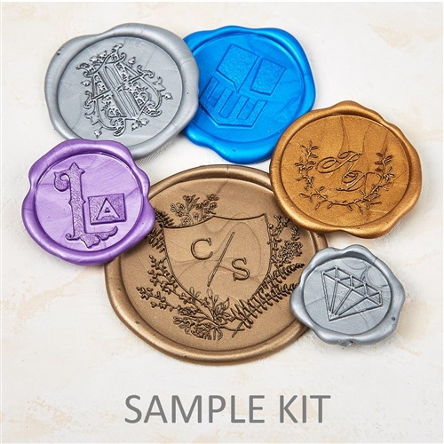 Sample Kit for Self Adhesive Wax Seals