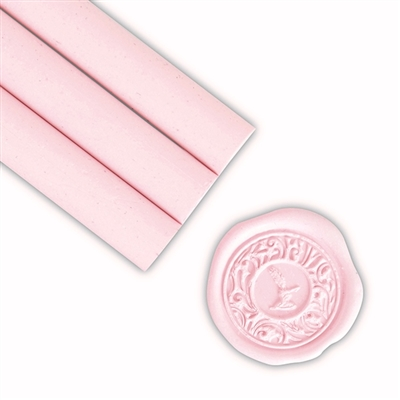 Soft Pink Blue Glue Gun Sealing Wax