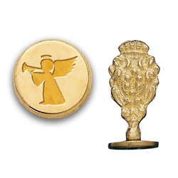 Christmas Angel Brass Wax Seal Stamp