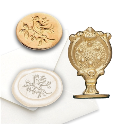 Songbird Brass Wax Seal Stamp