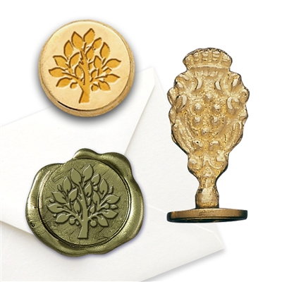 Tree of Life Brass Wax Seal Stamp