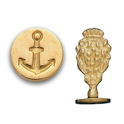 Wax Seal Anchor-Brass handle