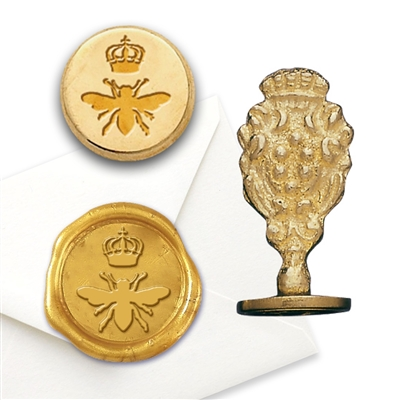 Queen Bee Brass Wax Seal Stamp