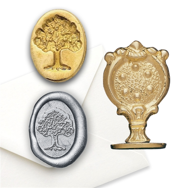 Oak Tree/Tree of Life Brass Wax Seal Stamp