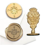 Compass Brass  Wax Seal Stamp