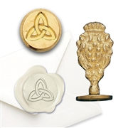 Celtic Trinity - Brass Wax Stamp