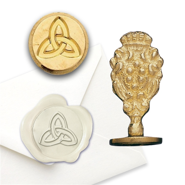 Wax Seal Celtic Trinity - Brass Handle Stamp