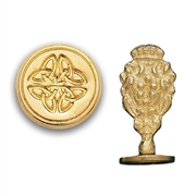 Celtic Knot Brass Wax Stamp