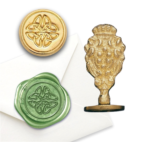 Wax Seal Celtic Knot- Brass Handle Stamp