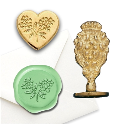 Heartshape/Flower Wax Seal