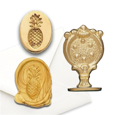 Pineapple Wax Seal