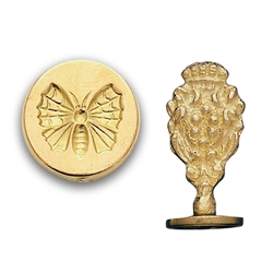 Butterfly Brass Wax Stamp