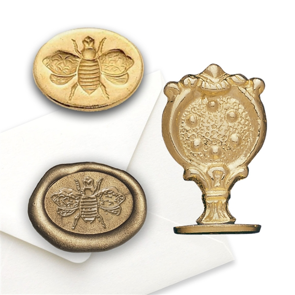 Bee Brass Wax Seal Stamp