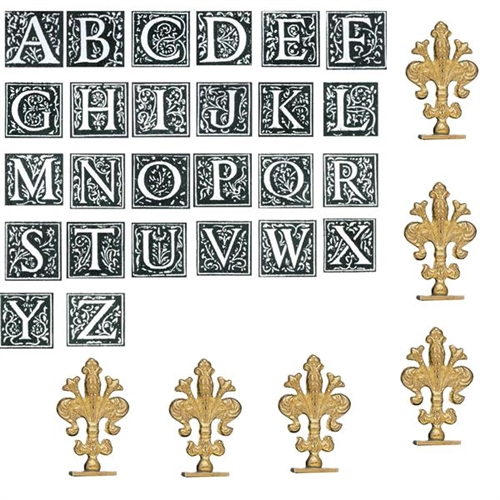 Initial Wax Seal Stamp Bundle Set of 26 Letters