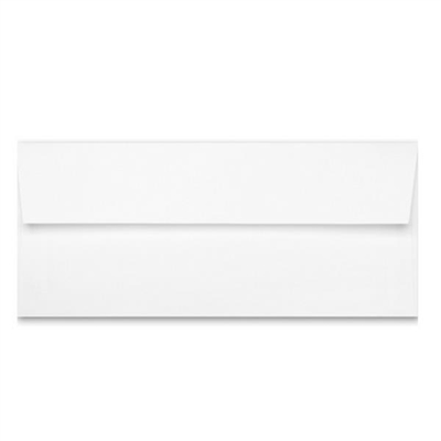 Classic Linen #10 Brilliant White Envelopes -10pk