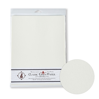 Classic Linen Brilliant White Stationery Paper 8.5x11-20pk