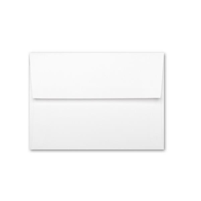 Classic Linen A6 Brilliant White Envelope -10pk