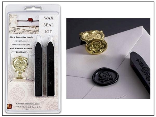 Envelope Wax Seal Kit  your choice of symbol