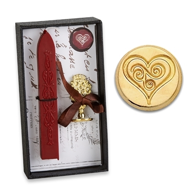 Heart Wax Seal Kit Deluxe