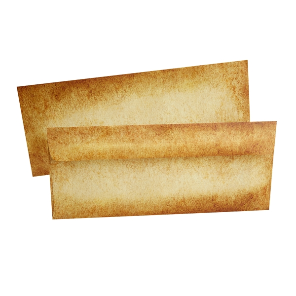 Aged Parchment  Envelopes-#10 size-Pack of  10